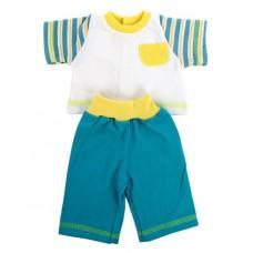 Одежда для куклы 42 см, футболка и шортики 56