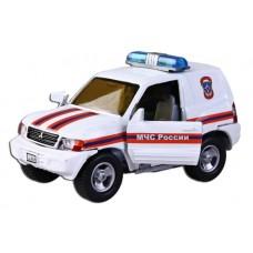 Машина мет. ин. 1:32 Mitsubishi МЧС России,свет,звук, окр.двери 87516