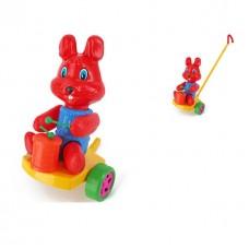Каталка Кролик с барабаном SHNK-03
