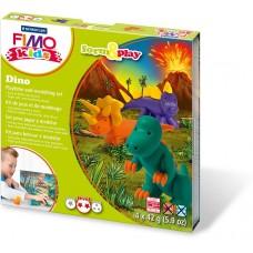 Набор для лепки из полимерной глины FIMO kids form&play Дино 8034 07 LZ