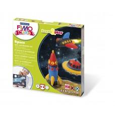 Набор для лепки из полимерной глины FIMO kids form&play Космос 8034 09 LZ