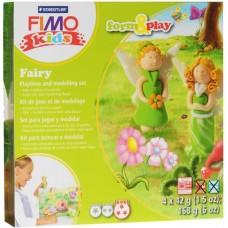 Набор для лепки из полимерной глины FIMO kids form&play Фея 8034 04 LZ
