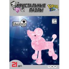 3D Crystal Puzzle Пудель M Gl-6330