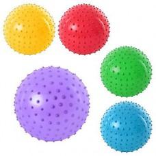 Мяч массажный 10 см в ассорт 63659