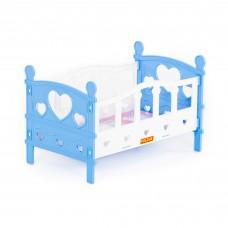 Кроватка для кукол №2 сборная 62048