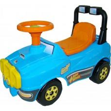 Каталка автомобиль Джип №2 (голубой) 62871
