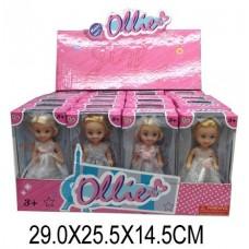 Кукла Ollie 12см Невеста, в ассорт., дисплей 35004