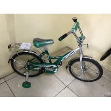 """Велосипед 16"""" Bubble (цвет.спицы, хром.крыло)"""