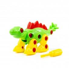 """Конструктор-динозавр """"Стегозавр"""" 30 эл. 76694"""