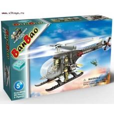 """Конструктор """"Военный вертолет"""" 90 деталей (8243)"""