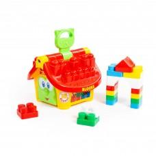 """Логический домик """"Маленький строитель"""" 9646"""