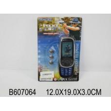 Телефон мобильный слайдер Полиция 610E