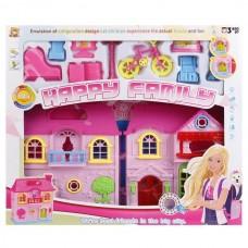 Дом для кукол свет, звук, мебель KB99-6 B1356331