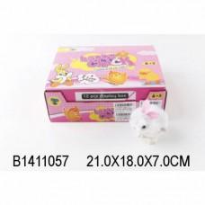 Игрушка заводная Зайчик 568-24 дисплей B1411057