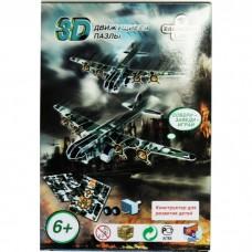 """Конструктор """"3D Action Puzzle"""" Авиация в ассорт 8 штук в дисплей боксе D050858"""