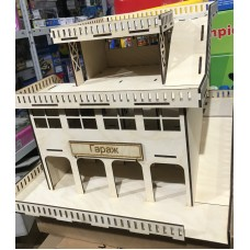 Кукольный домик Д-3 (Гараж-парковка)