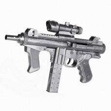 Пистолет мех., фонарь, лазер, коробка ES605-1238B