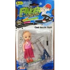 Finger sport: Самокат + Куколка 636A