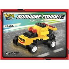 """Конструктор SuperBlock """"Большие гонки"""" Гоночная машина 2 XS Gl-6277"""