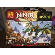 Конструктор Ninjaga 597 деталей 79345
