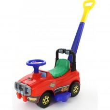 Автомобиль Джип-каталка с ручкой (красный) 62918