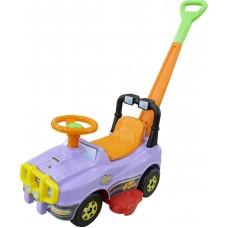 Автомобиль Джип-каталка с ручкой (сиреневый) 62925