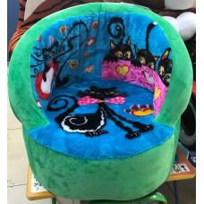 Кресло Мяч с рисунком