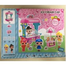 """Набор кукла в шаре """"Ларек с мороженым"""" 588-10"""