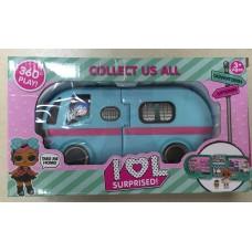 Набор кукла в шаре Автобус BS011