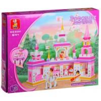 Конструктор Розовая мечта 385 дет. M38-B0251