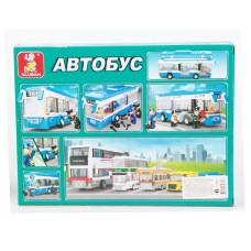 Конструктор Автобус 235 дет. M38-B0330