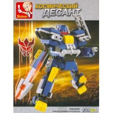 Конструктор Синий рыцарь 277 дет. M38-B0387