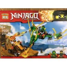 Конструктор Ninjaga 215 деталей 7004
