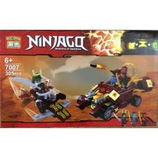 Конструктор Ninja 305 деталей 7007