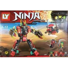 Конструктор Ninjaga 339 деталей 68004