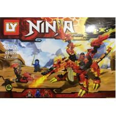 Конструктор Ninjaga 431 деталей 68007