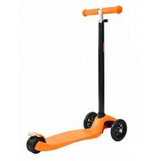 Самокат 3-х кол.Maxi Led Orange