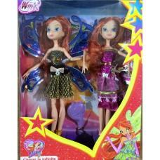 Кукла Фея набор 2 куклы 8133