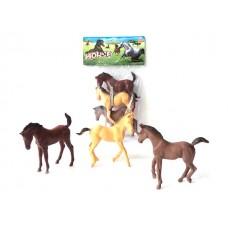 Набор лошадок, 10-12 см, 3шт Y231