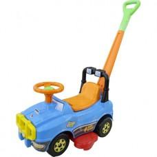 Каталка-автомобиль Джип с ручкой №2 6294
