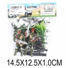 Набор Военный, солдаты, техника 456