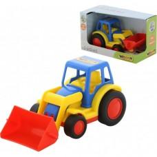 """Трактор-погрузчик """"Базик"""" (в коробке) 37626"""