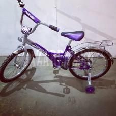 """Велосипед 20"""" Peekaboo (цвет.спицы, хром.крыло)"""