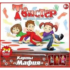 Игра Твистер+карты Мафия 10010