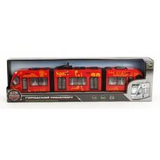 Трамвай Городской 1:43, откр.двери 870171