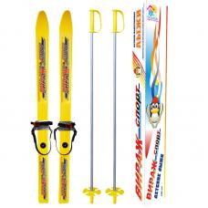 Лыжи детские Вираж 100 см (лыжи, палки, крепление)