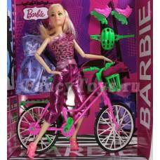 Кукла с коляской/велосипед
