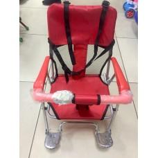 Седло на багажник (велокресло) JL-189 красное