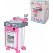 """Набор """"Carmen"""" №3 с посудомоичной машиной и мойкой (в коробке) 57914"""